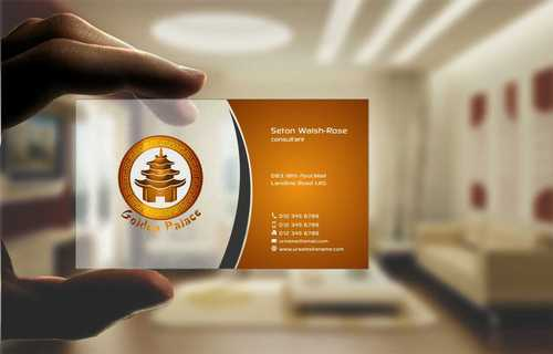 Golden Palace Restaurant Business Cards and Stationery  Draft # 234 by Dawson