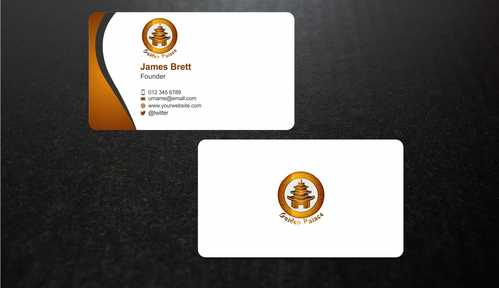 Golden Palace Restaurant Business Cards and Stationery  Draft # 237 by Dawson