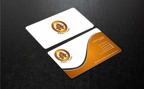 Golden Palace Restaurant Business Cards and Stationery  Draft # 242 by Dawson