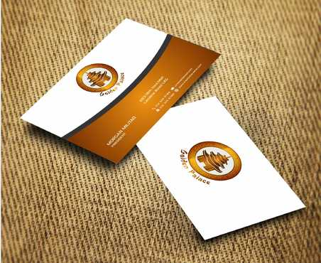 Golden Palace Restaurant Business Cards and Stationery  Draft # 243 by Dawson