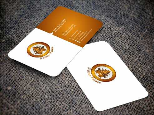 Golden Palace Restaurant Business Cards and Stationery  Draft # 245 by Dawson