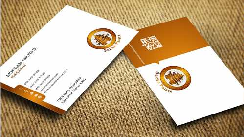 Golden Palace Restaurant Business Cards and Stationery  Draft # 246 by Dawson