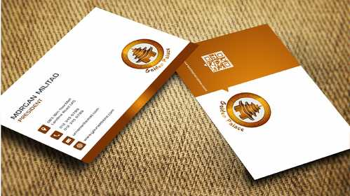 Golden Palace Restaurant Business Cards and Stationery  Draft # 247 by Dawson