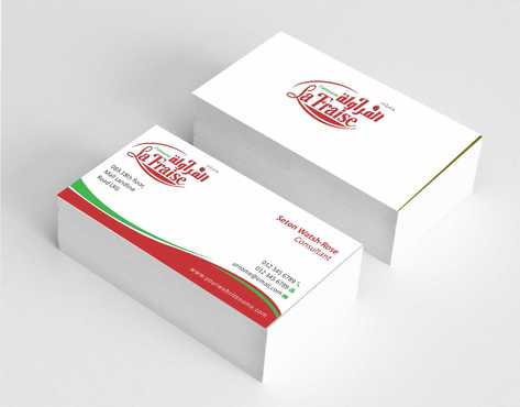 La Fraise Patisserie Business Cards and Stationery  Draft # 330 by Dawson
