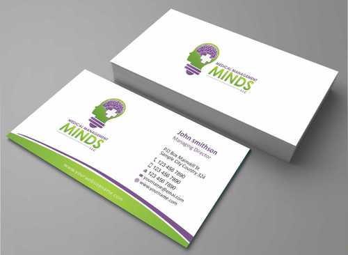 Medical Management Minds, LLC Business Cards and Stationery  Draft # 131 by Dawson