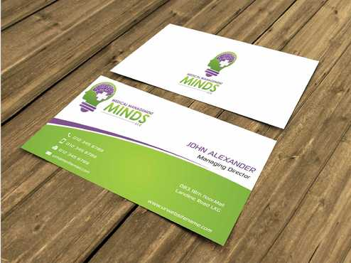 Medical Management Minds, LLC Business Cards and Stationery  Draft # 134 by Dawson