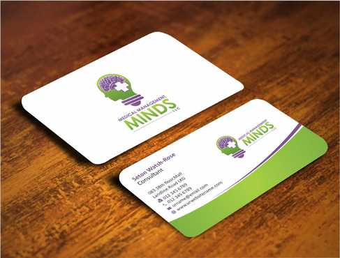 Medical Management Minds, LLC Business Cards and Stationery  Draft # 138 by Dawson