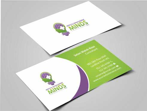 Medical Management Minds, LLC Business Cards and Stationery  Draft # 146 by Dawson