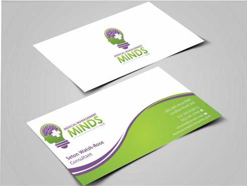Medical Management Minds, LLC Business Cards and Stationery  Draft # 147 by Dawson