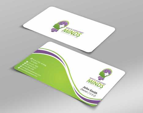 Medical Management Minds, LLC Business Cards and Stationery  Draft # 149 by Dawson