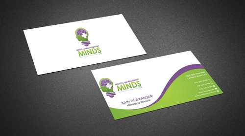 Medical Management Minds, LLC Business Cards and Stationery  Draft # 152 by Dawson
