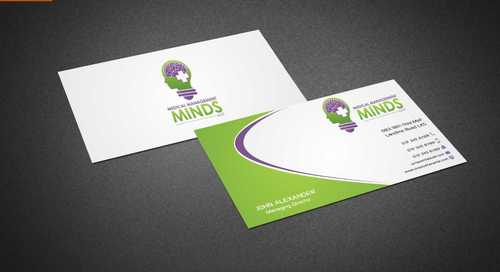 Medical Management Minds, LLC Business Cards and Stationery  Draft # 153 by Dawson