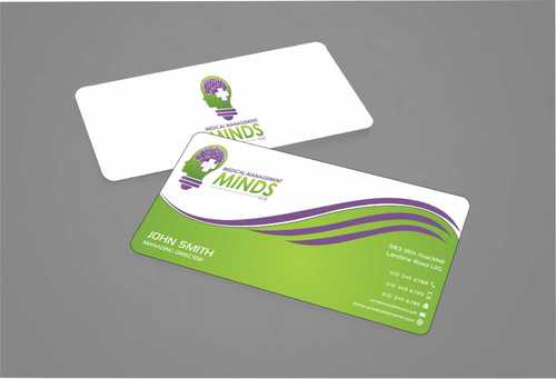 Medical Management Minds, LLC Business Cards and Stationery  Draft # 155 by Dawson
