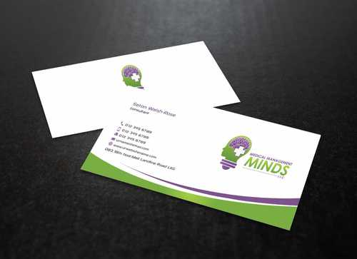 Medical Management Minds, LLC Business Cards and Stationery  Draft # 157 by Dawson