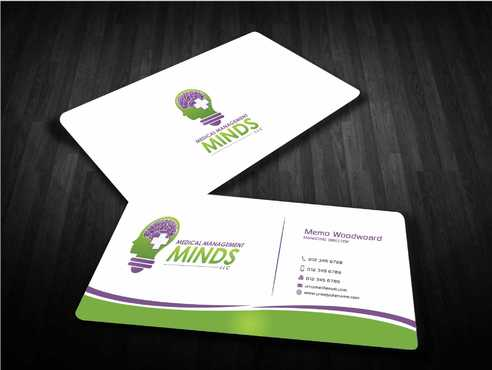 Medical Management Minds, LLC Business Cards and Stationery  Draft # 164 by Dawson
