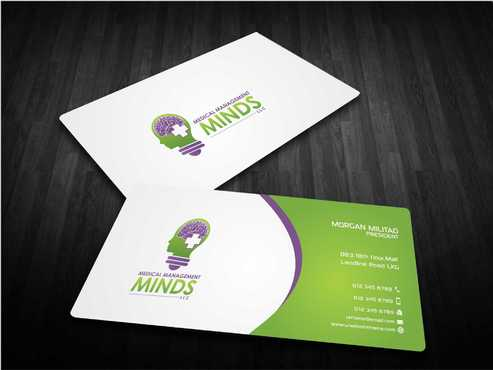 Medical Management Minds, LLC Business Cards and Stationery  Draft # 167 by Dawson