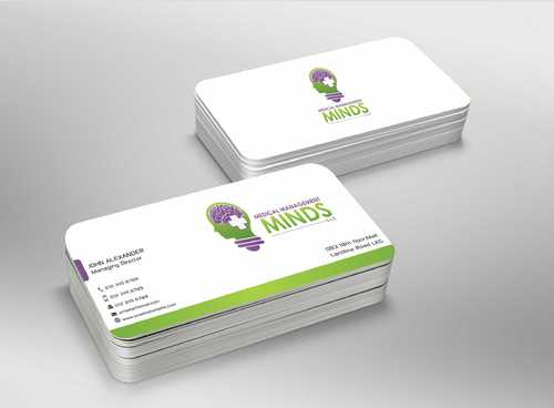 Medical Management Minds, LLC Business Cards and Stationery  Draft # 170 by Dawson