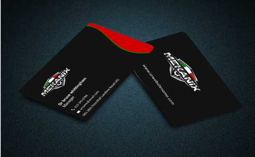 Mekanix Business Cards and Stationery  Draft # 114 by Dawson