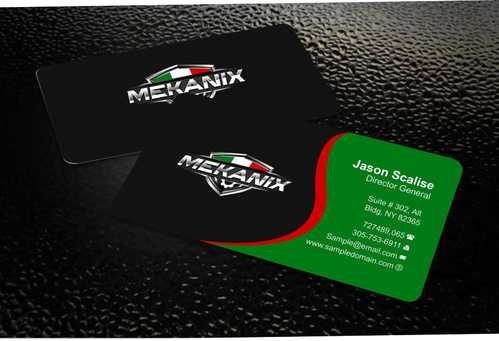 Mekanix Business Cards and Stationery  Draft # 115 by Dawson