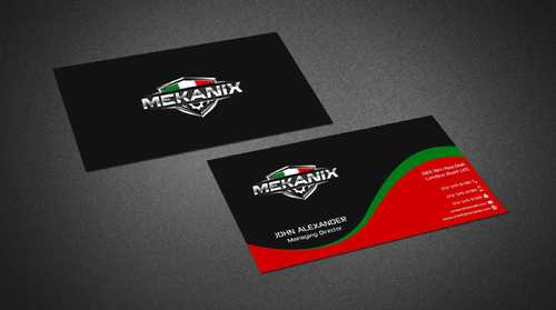 Mekanix Business Cards and Stationery  Draft # 116 by Dawson