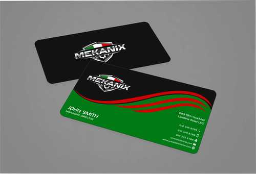 Mekanix Business Cards and Stationery  Draft # 119 by Dawson