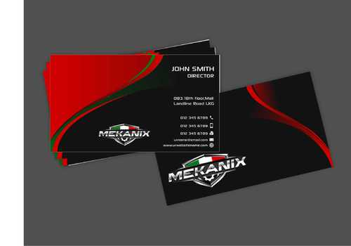 Mekanix Business Cards and Stationery  Draft # 120 by Dawson