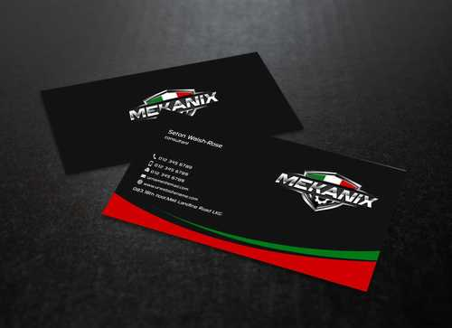 Mekanix Business Cards and Stationery  Draft # 122 by Dawson