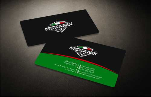 Mekanix Business Cards and Stationery  Draft # 123 by Dawson