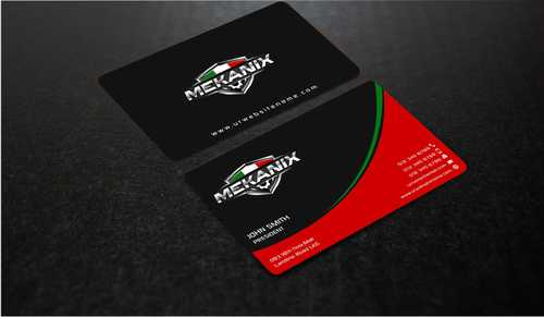 Mekanix Business Cards and Stationery  Draft # 124 by Dawson