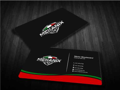 Mekanix Business Cards and Stationery  Draft # 130 by Dawson