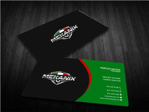 Mekanix Business Cards and Stationery  Draft # 133 by Dawson
