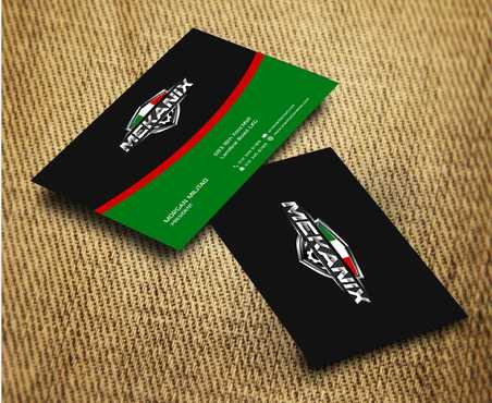 Mekanix Business Cards and Stationery  Draft # 135 by Dawson