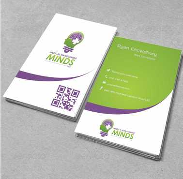 Medical Management Minds, LLC Business Cards and Stationery  Draft # 365 by Dawson