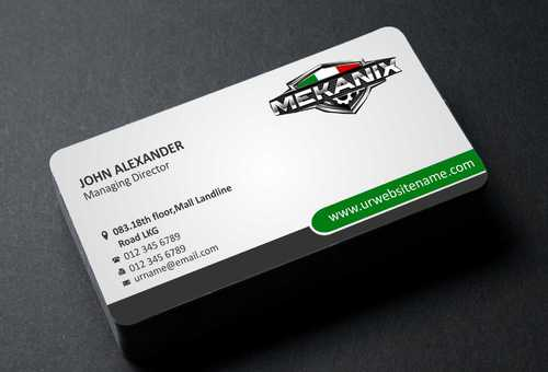 Mekanix Business Cards and Stationery  Draft # 335 by Dawson