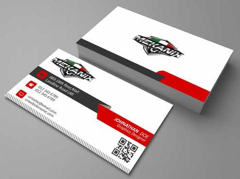 Mekanix Business Cards and Stationery  Draft # 364 by Dawson