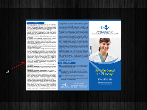 AVS Dental Plan Marketing collateral  Draft # 45 by Abdul700