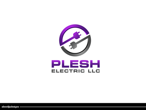PLESH ELECTRIC LLC A Logo, Monogram, or Icon  Draft # 3 by alocelja
