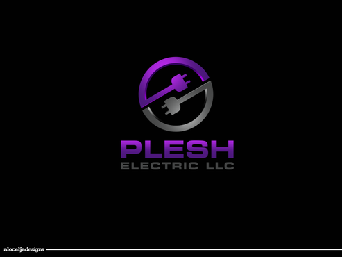 PLESH ELECTRIC LLC A Logo, Monogram, or Icon  Draft # 4 by alocelja
