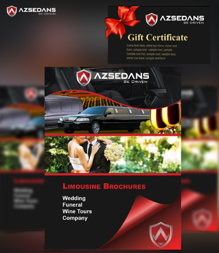 AZ SEDANS BROCHURES Marketing collateral  Draft # 21 by DeneoNeivol