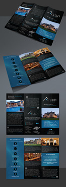 Curd Homes Brochure Marketing collateral Winning Design by Achiver