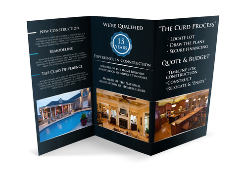 Curd Homes Brochure Marketing collateral  Draft # 23 by TMEdesign