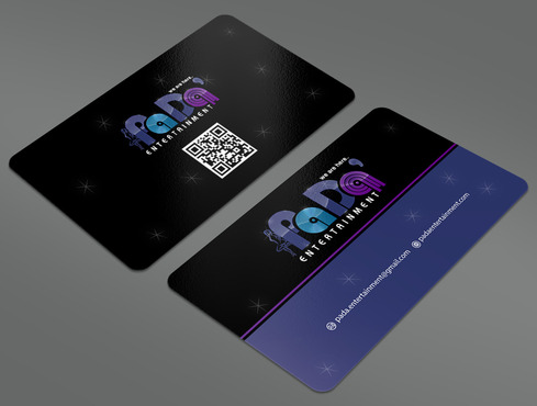 PaDa' entertainment Business Cards and Stationery  Draft # 11 by ArtworksKingdom