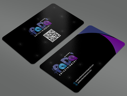 PaDa' entertainment Business Cards and Stationery  Draft # 22 by ArtworksKingdom