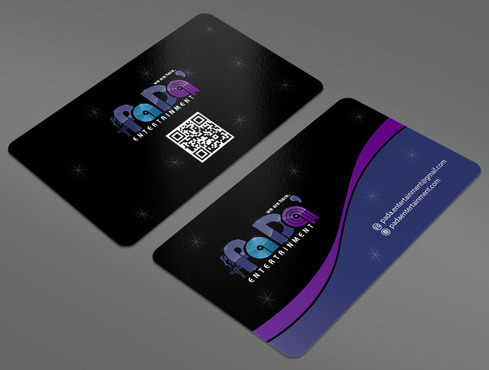 PaDa' entertainment Business Cards and Stationery  Draft # 23 by ArtworksKingdom
