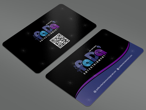 PaDa' entertainment Business Cards and Stationery  Draft # 25 by ArtworksKingdom