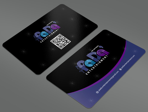 PaDa' entertainment Business Cards and Stationery  Draft # 26 by ArtworksKingdom