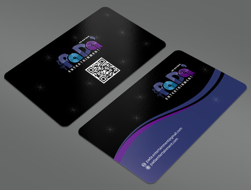 PaDa' entertainment Business Cards and Stationery  Draft # 33 by ArtworksKingdom