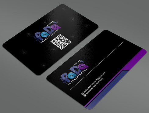 PaDa' entertainment Business Cards and Stationery  Draft # 38 by ArtworksKingdom