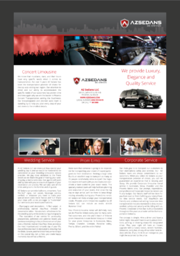 AZ SEDANS BROCHURES Marketing collateral  Draft # 29 by Kaiza
