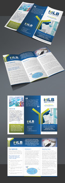 Main Line Bioscience Marketing collateral Winning Design by Achiver